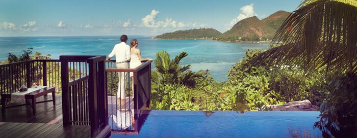Offre Chambre avec petit-déjeuner inclus au Raffles Seychelles