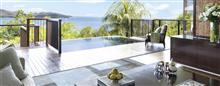 Villa avec vue panoramique au Raffles Seychelles