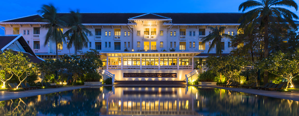 Luxury Siem Reap Hotel In Cambodia Raffles Grand Hotel
