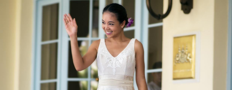 Mariage dans les ruines au Raffles Hotel d'Angkor