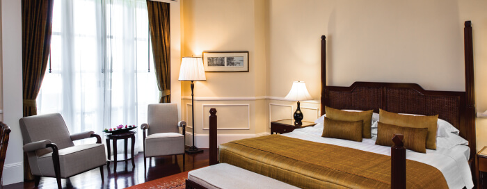 Chambre Landmark au Raffles Hotel d'Angkor