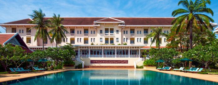 Raffles Hotel d'Angkor(ラッフルズ ホテル ダンコール)のラッフルズ プール