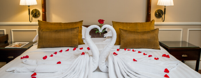 Retraite romantique pour la Saint-Valentin