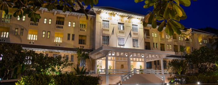 Raffles Hotel d'Angkor(ラッフルズ ホテル ダンコール)のホテルのファサード