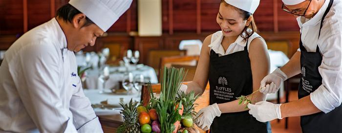Cours de cuisine royale khmère