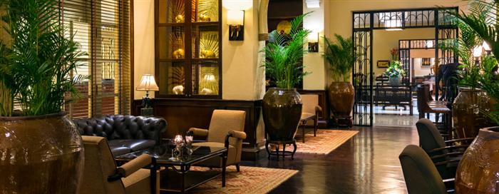 Raffles Hotel d'Angkor(ラッフルズ ホテル ダンコール)のエレファント バー