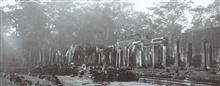 Ruines au Raffles Hotel d'Angkor