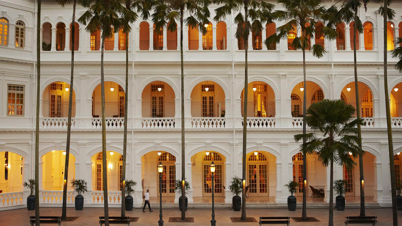 Raffles Singapore Reopening In 2019 Luxury Hotel In Singapore
