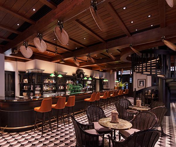 Long Bar Raffles Singapore Raffles Hotels Resorts