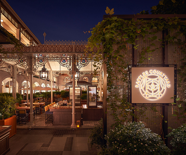 Raffles Courtyard Raffles Singapore Raffles Hotels Resorts