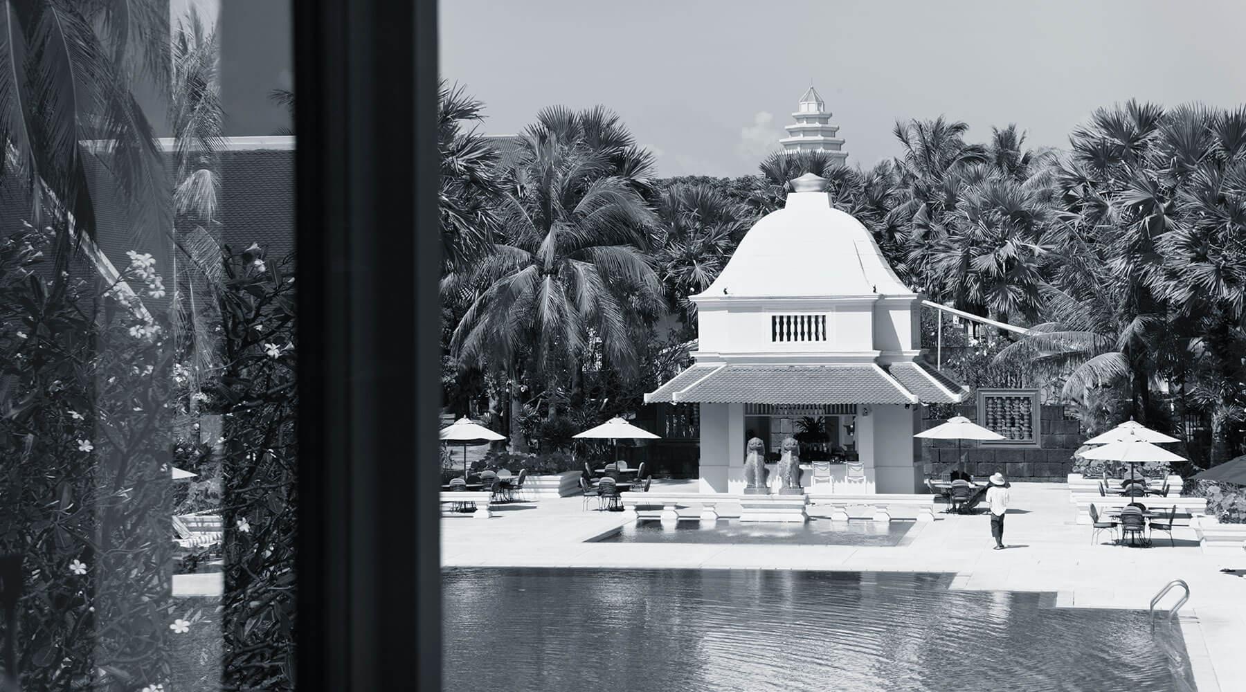 Raffles Kamboçya havuz