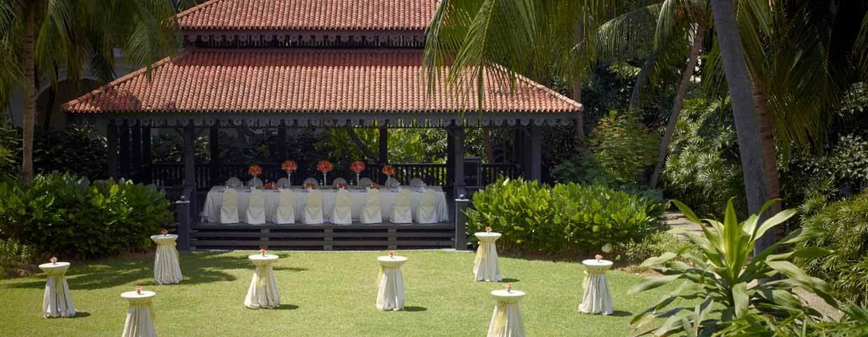 Raffles Singapore 酒店庭院 2