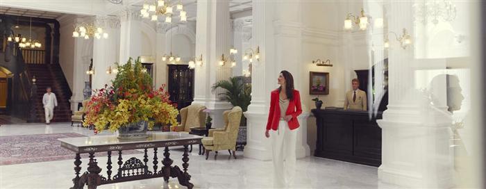 ردهة الفندق في فندق رافلز سنغافورة (Raffles Singapore)