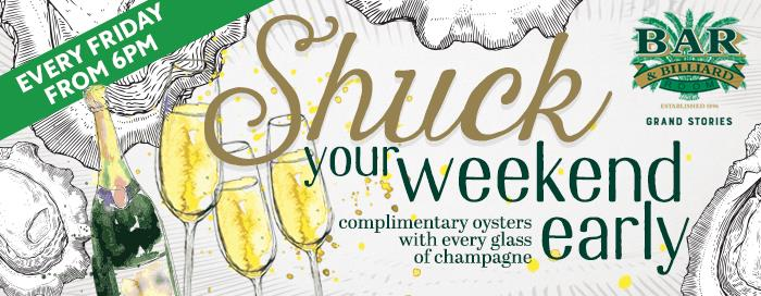 Champagne & Oysters Night