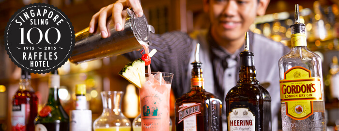Singapore Sling Masterclass with Kiver at Raffles Singapore