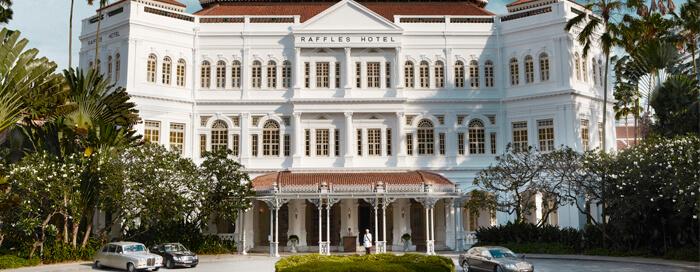 Raffles Singapore(ラッフルズ シンガポール)130周年記念