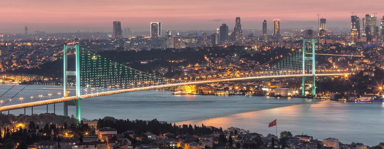 Вид из Raffles Istanbul