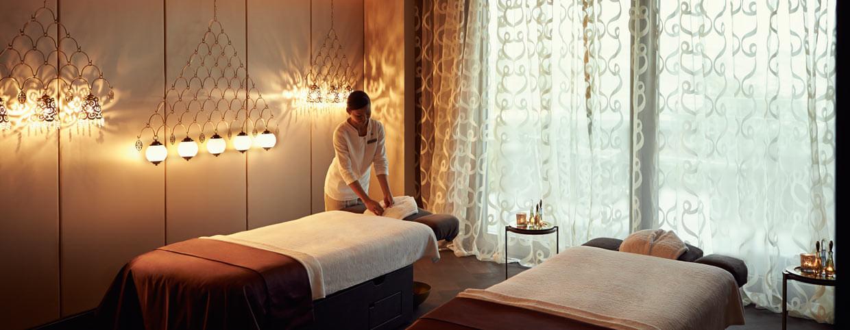 Процедурный кабинет для пар в спа-центре «Raffles» в Raffles Istanbul