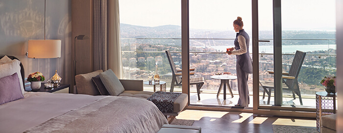 """الغرف المميزة بفندق رافلز إسطنبول """"Raffles Istanbul"""""""