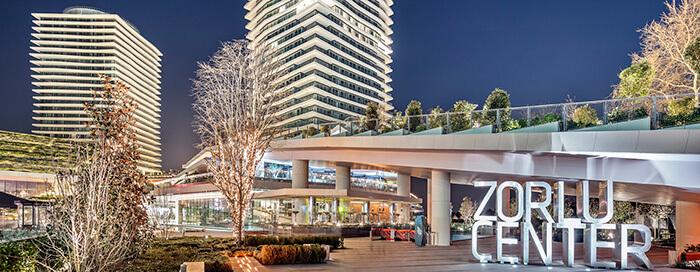 Торговый центр «Zorlu» в Raffles Istanbul