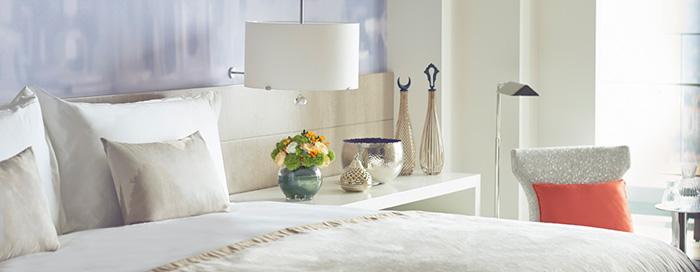 Люкс «Continents», спальня в Raffles Istanbul