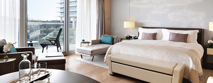 Deluxe Rooms at Raffles Istanbul