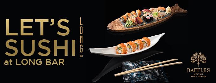 Sushi Reloaded at Raffles Istanbul