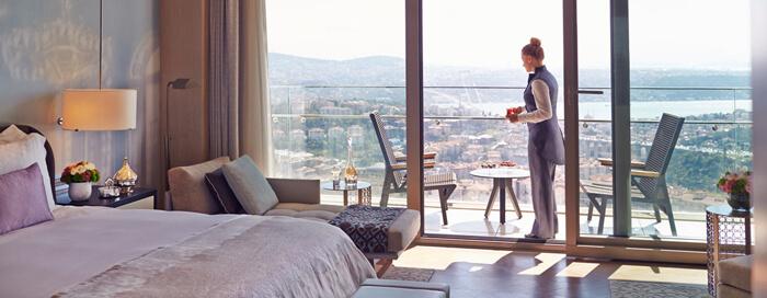Предложение «Проживание и завтрак» в Raffles Istanbul