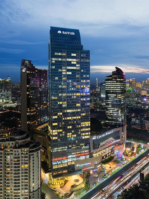 Raffles Jakarta Luxury Hotel In Jakarta Raffles Hotels