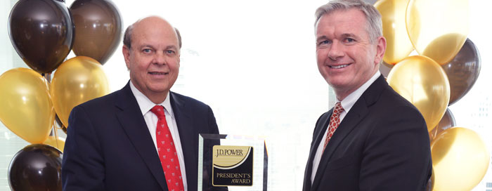 J.D. Power President's Award