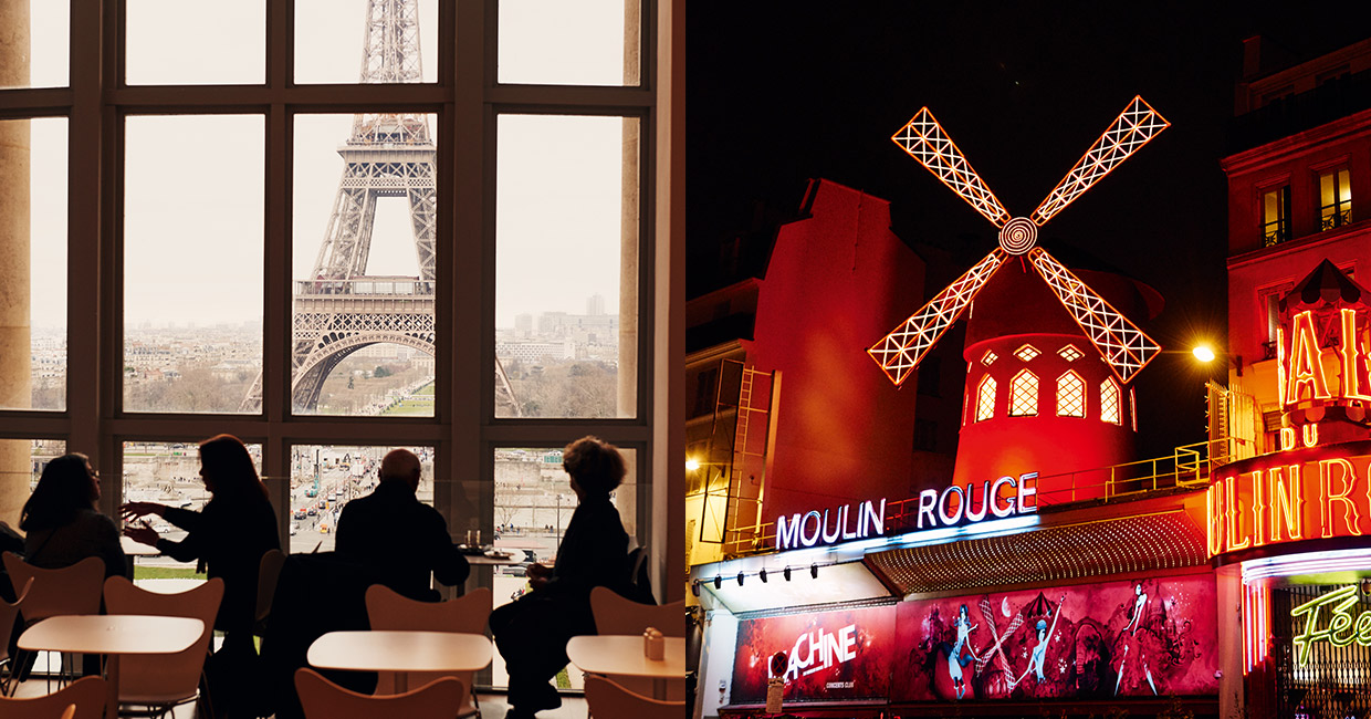 A Tale of two Cities - Paris' attractions have wide-ranging appeal