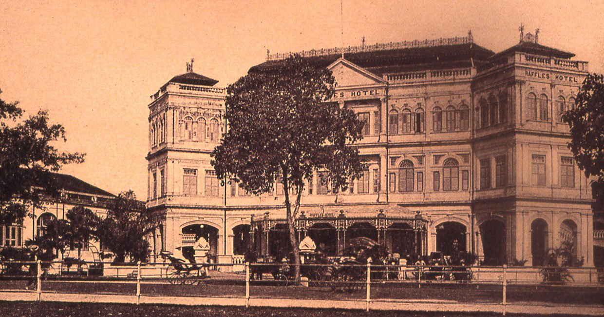 Changing Spaces - Raffles Singapore is undergoing a major restoration