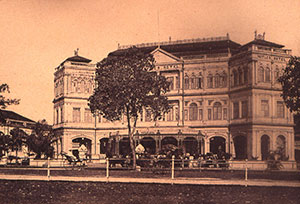 Changing Spaces - Raffles Singapore is undergoing a major restoration to reflect its past, present and future