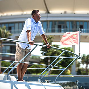 Alan Chan, General Manager at Clearwater Bay marina