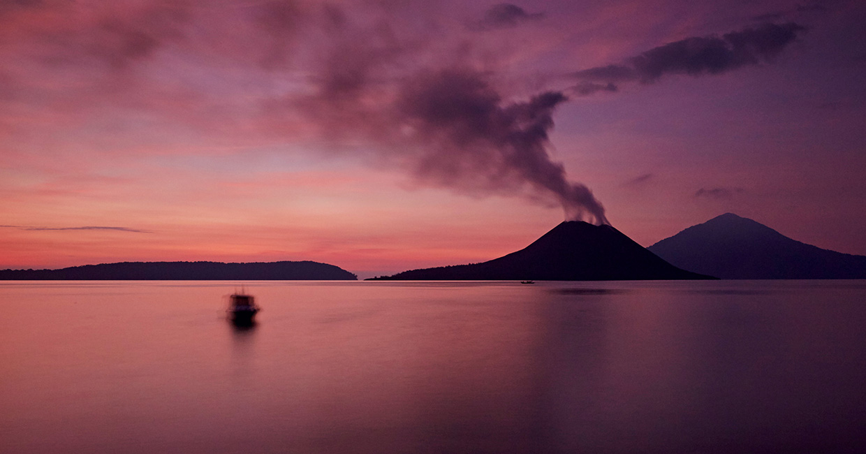 Heat of the Moment - Krakatau is the most notorious of Indonesia's volcanic islands
