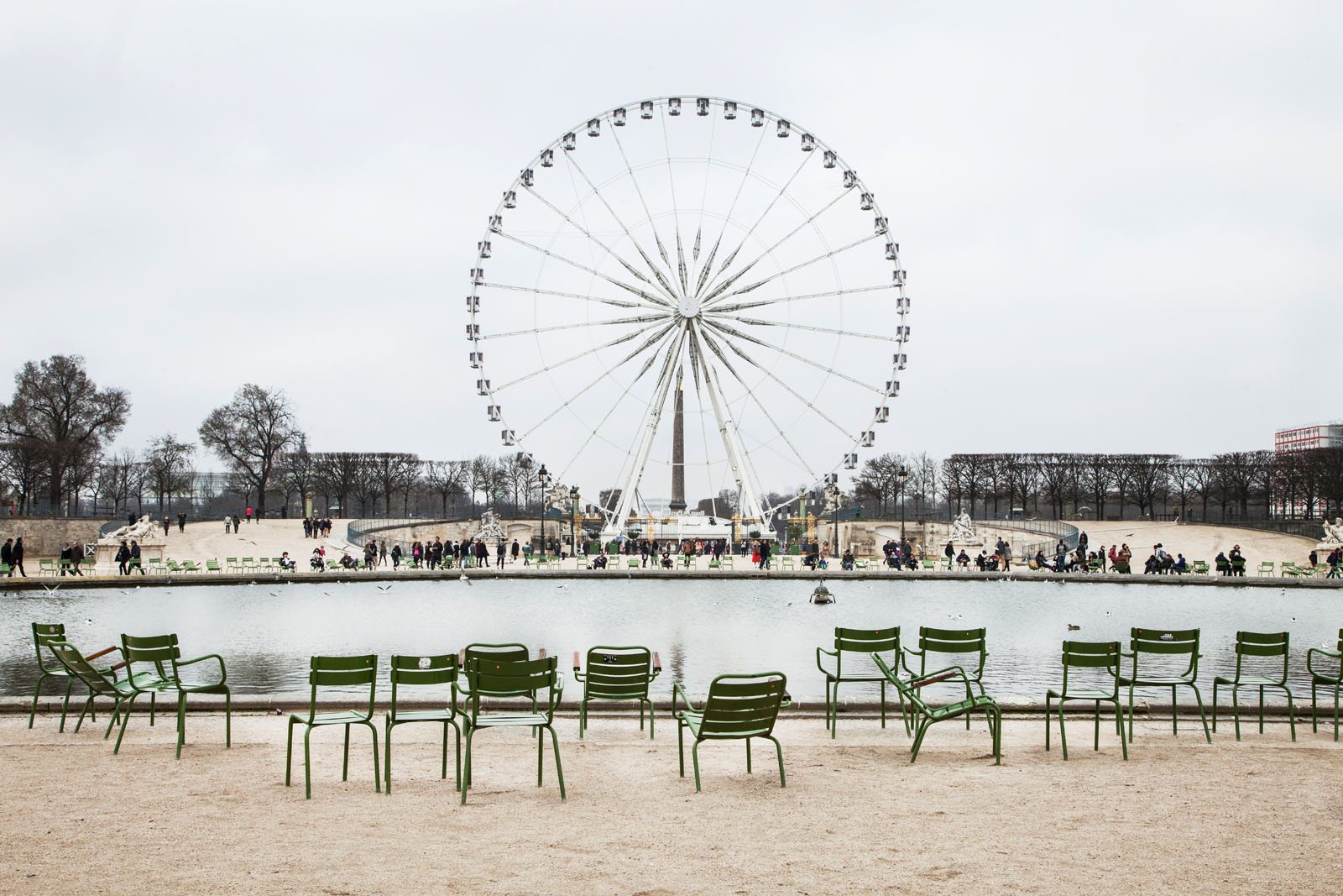 The Grand Basin at the Tuileries Garden