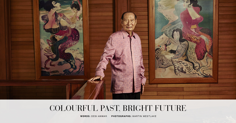 Jakarta's Shining Star - The dazzling creative influence of an Indonesian artist on Raffles Jakarta