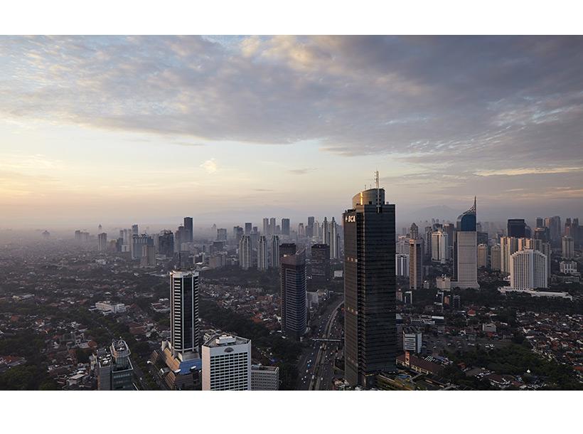 skyline image of Jakarta's city centre