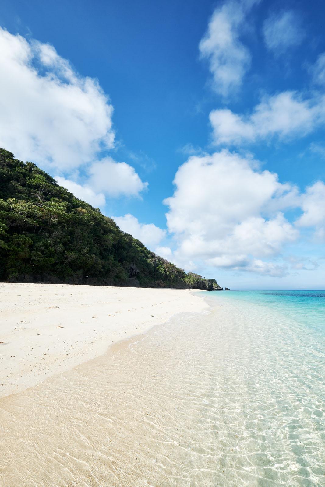 the far end of Puka Shell Beach