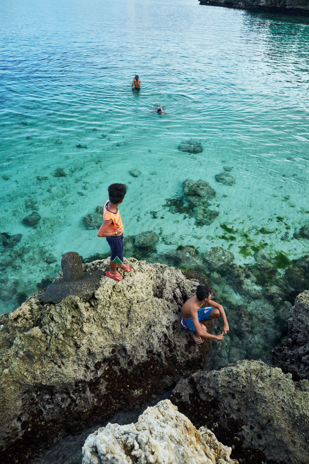 Tambisaan Beach has some of the best snorkelling on the island