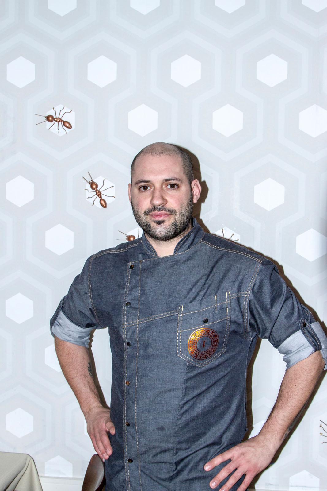 Argentinian chef Martin Gimenez-Castro