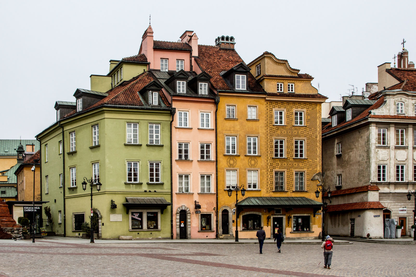 the Old Town has elements of Baroque, Gothic and neoclassical