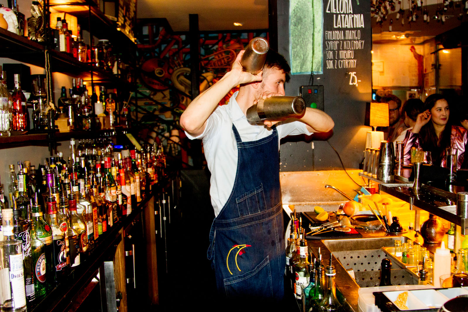 Barman: The Kita Koguta cocktail bar