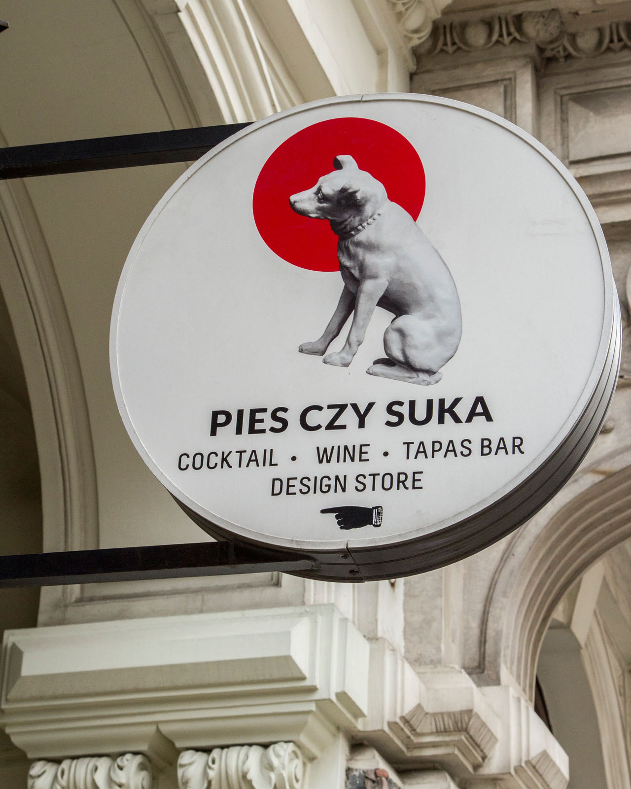 Sign: Pies Czy Suka concept store
