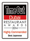 Time Out Awards Badge 2014
